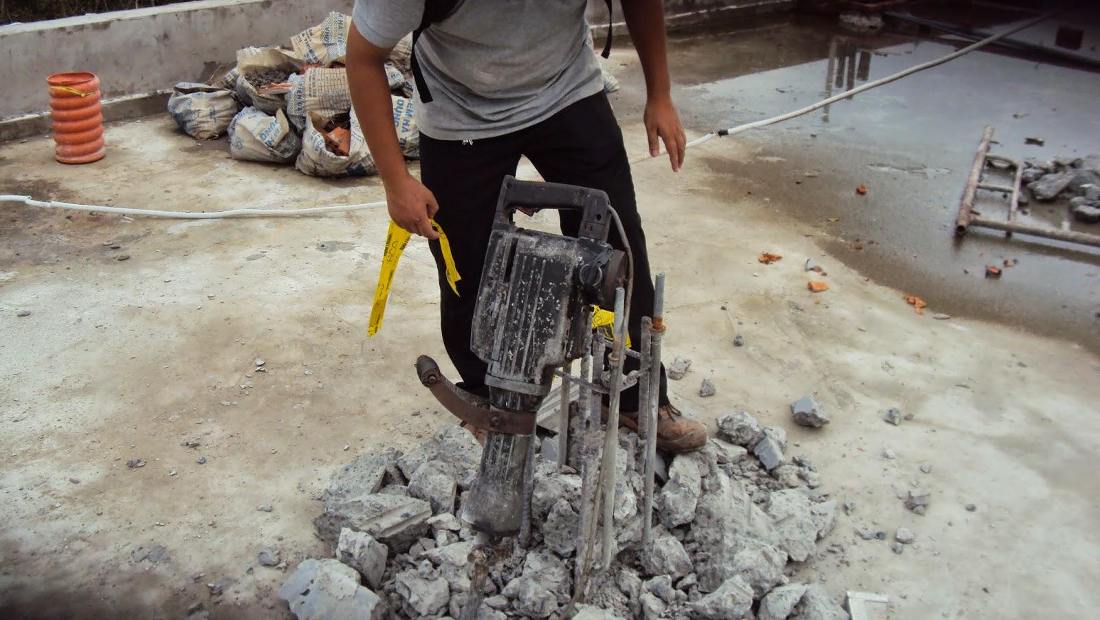 Đục phá bê tông quận 6, Khoan cắt bê tông quận Tân Bình