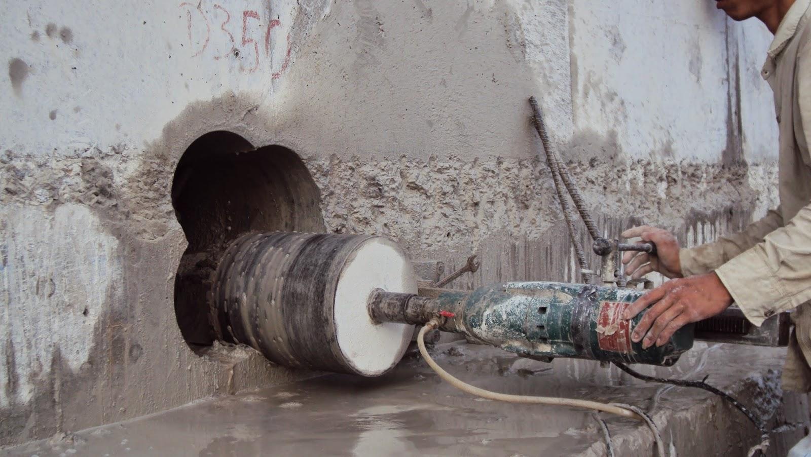 đục phá bê tông, Khoan cắt bê tông huyện Bình Chánh