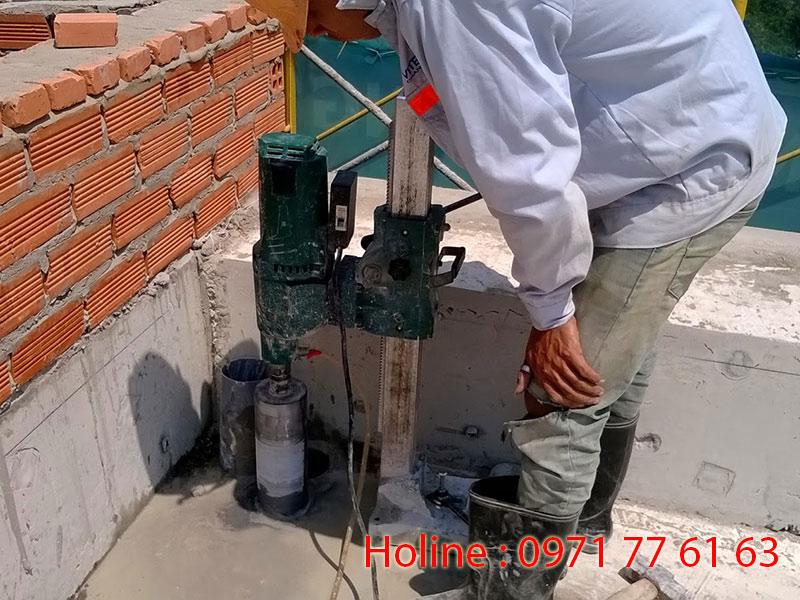 Khoan cắt bê tông Tây Ninh